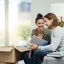 Moving Family booking a move online with Good Movers